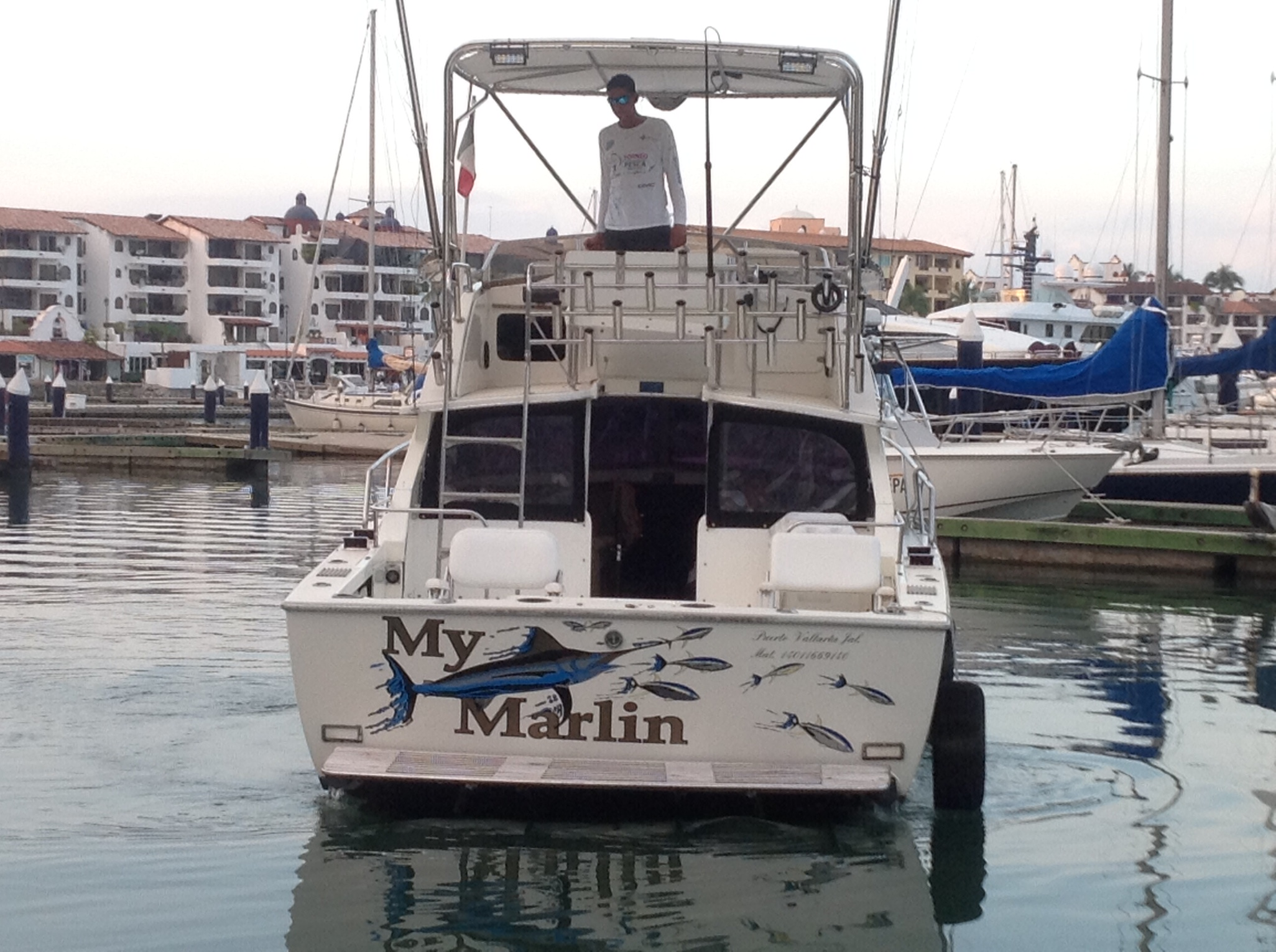 The My Marlin fishing charter