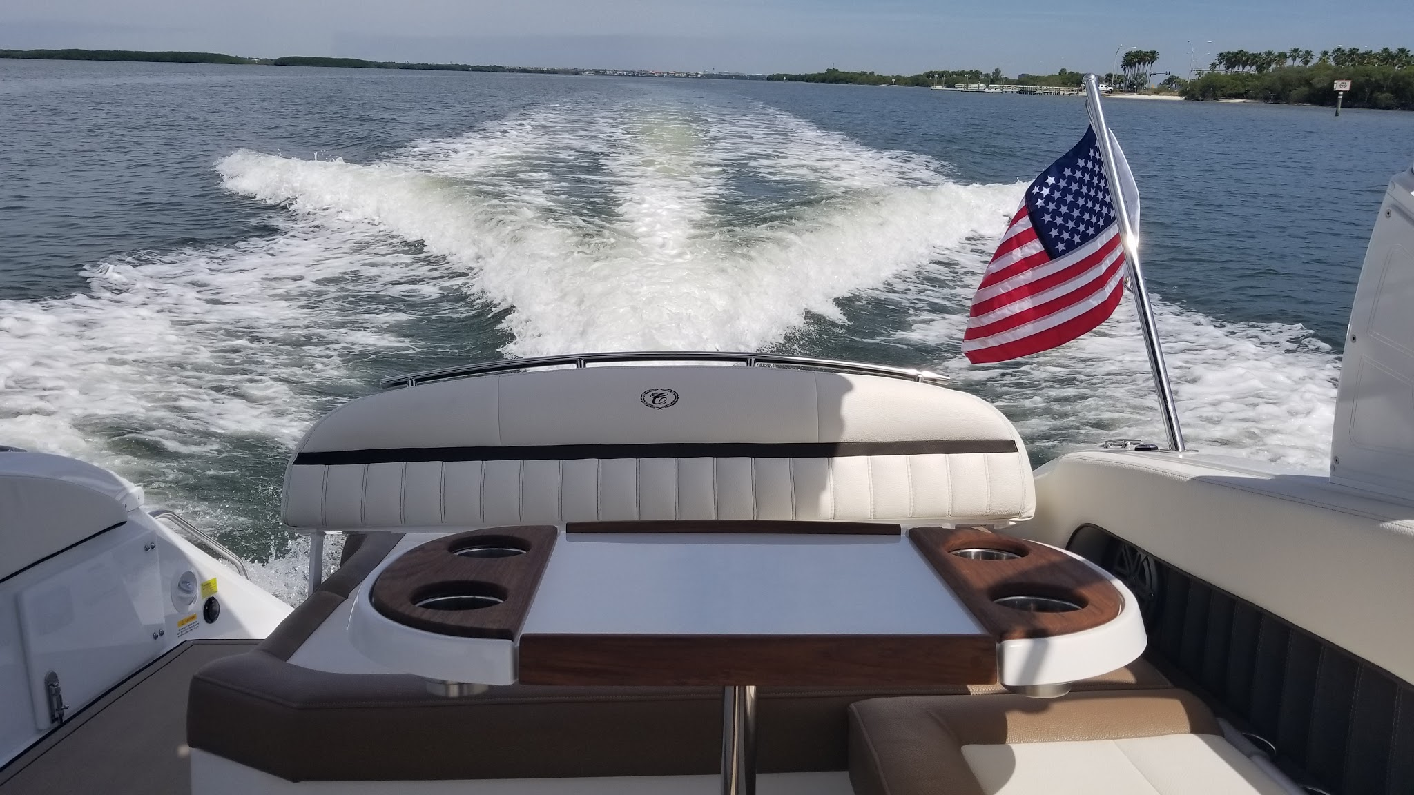 Great wake to tube in boat rentals Florida TAMPA Florida  Cobalt 26SD 2018 26