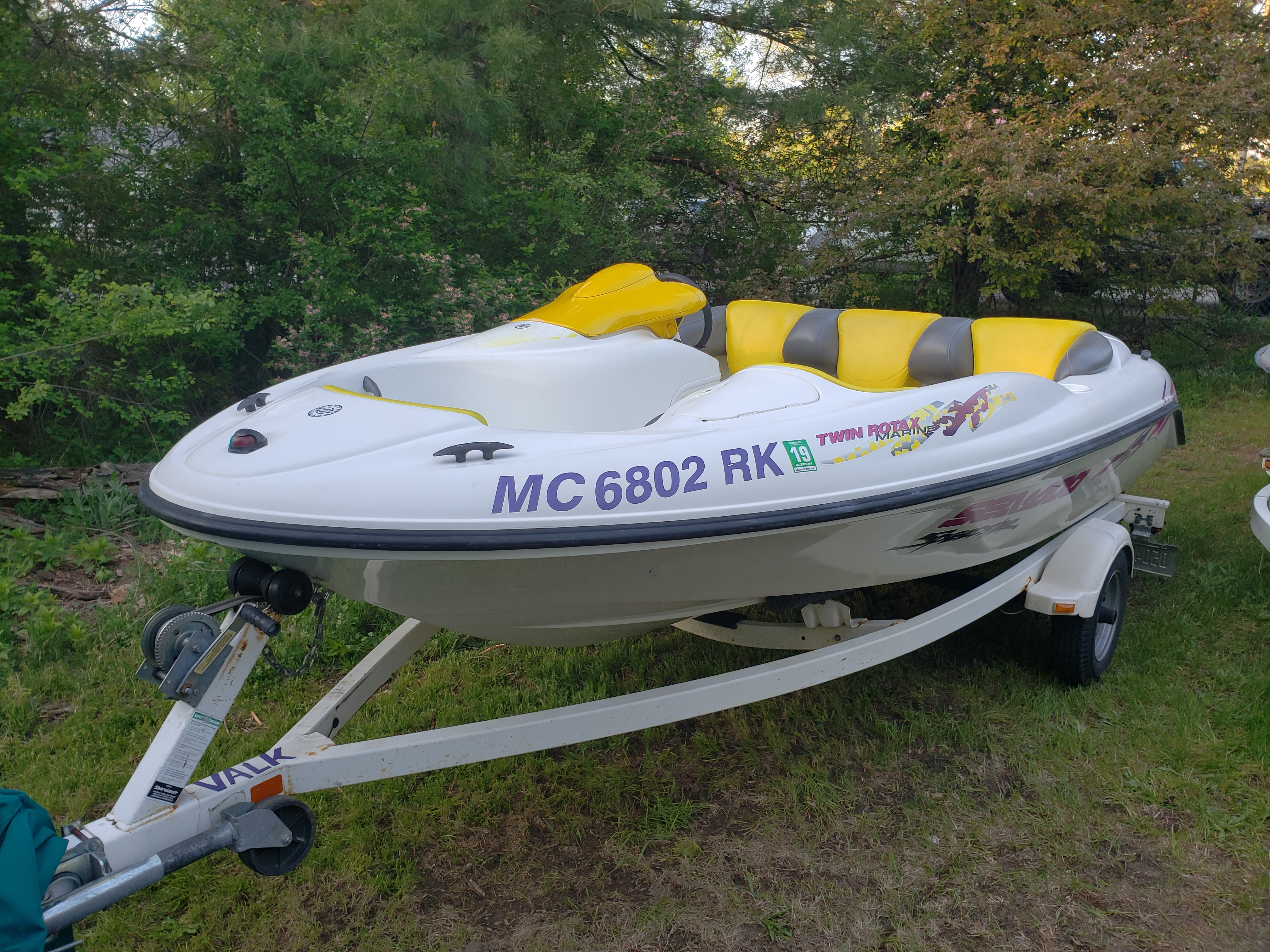 boat rentals Michigan BATTLE CREEK Michigan  Seadoo Speedster 1997 15