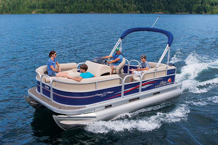 Texas Blue Pontoon