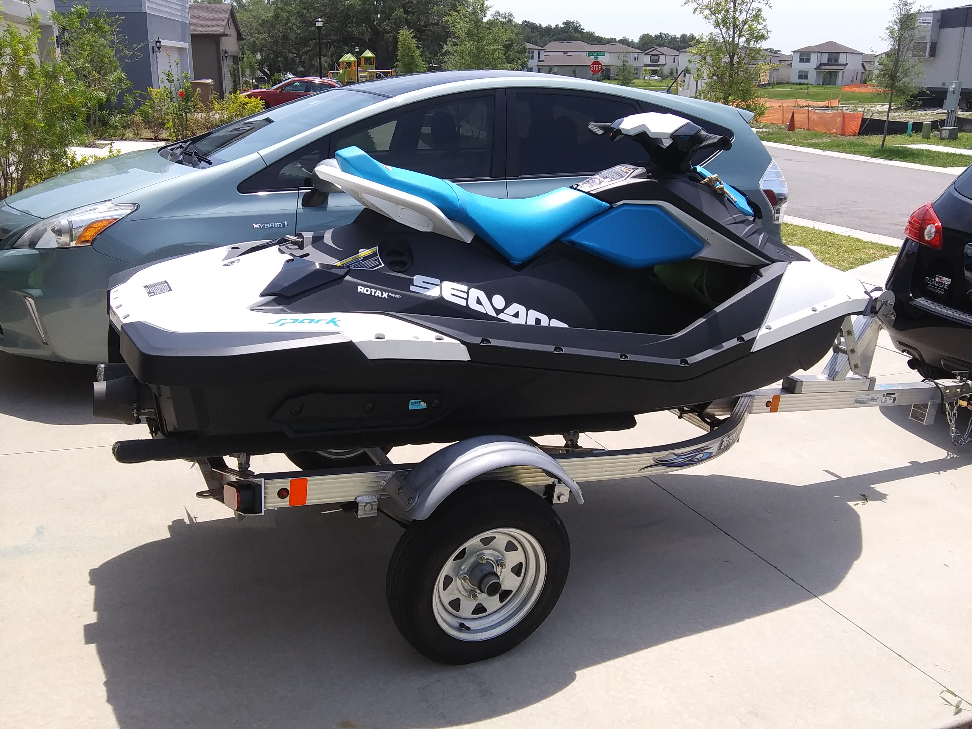 Comes With a Trailer! boat rentals Florida KISSIMMEE Florida  Sea-Doo Spark 2020 9