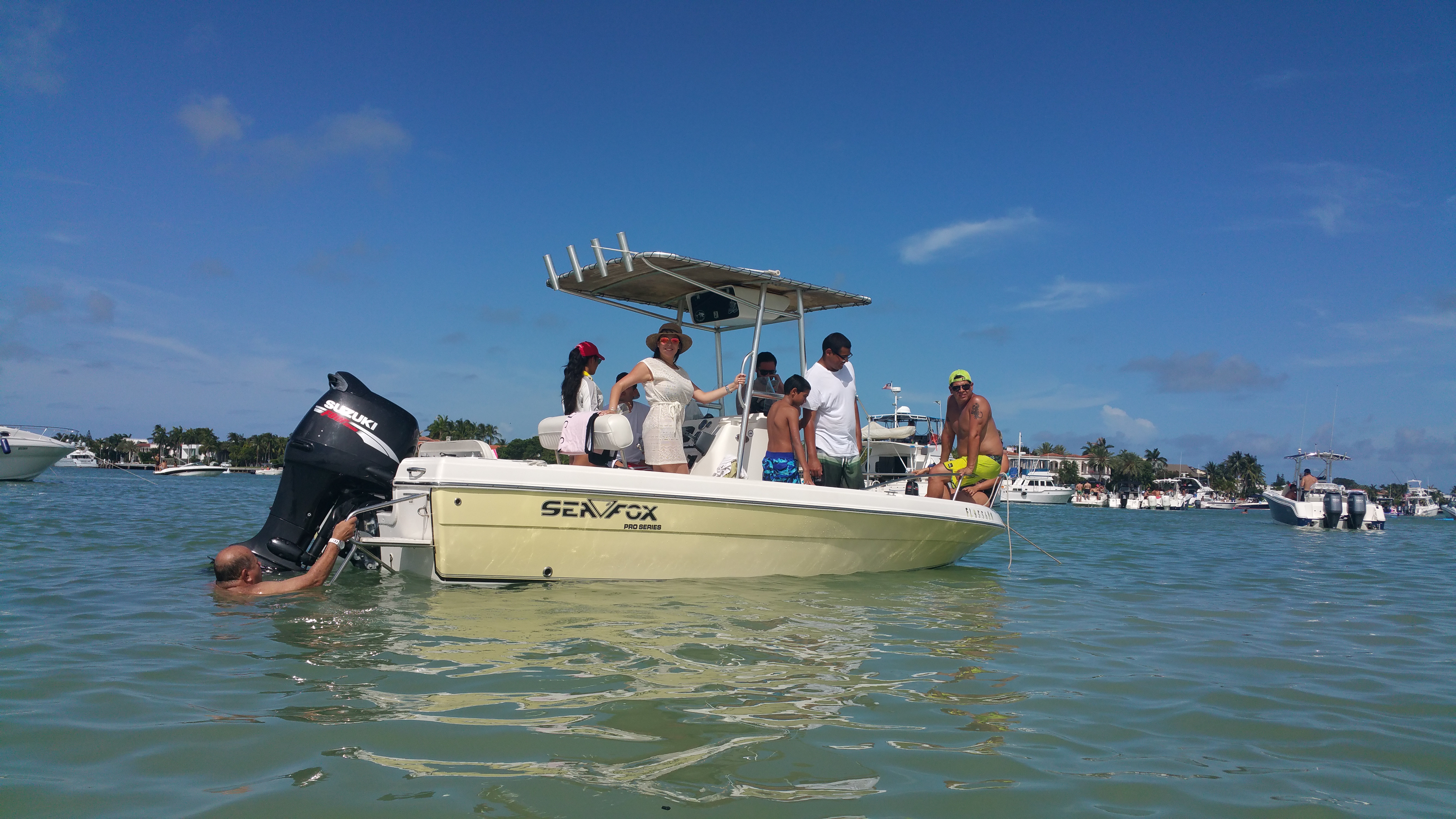 boat rentals Florida Miami Florida  Sea Fox 197 CC Pro 2008 20 Feet