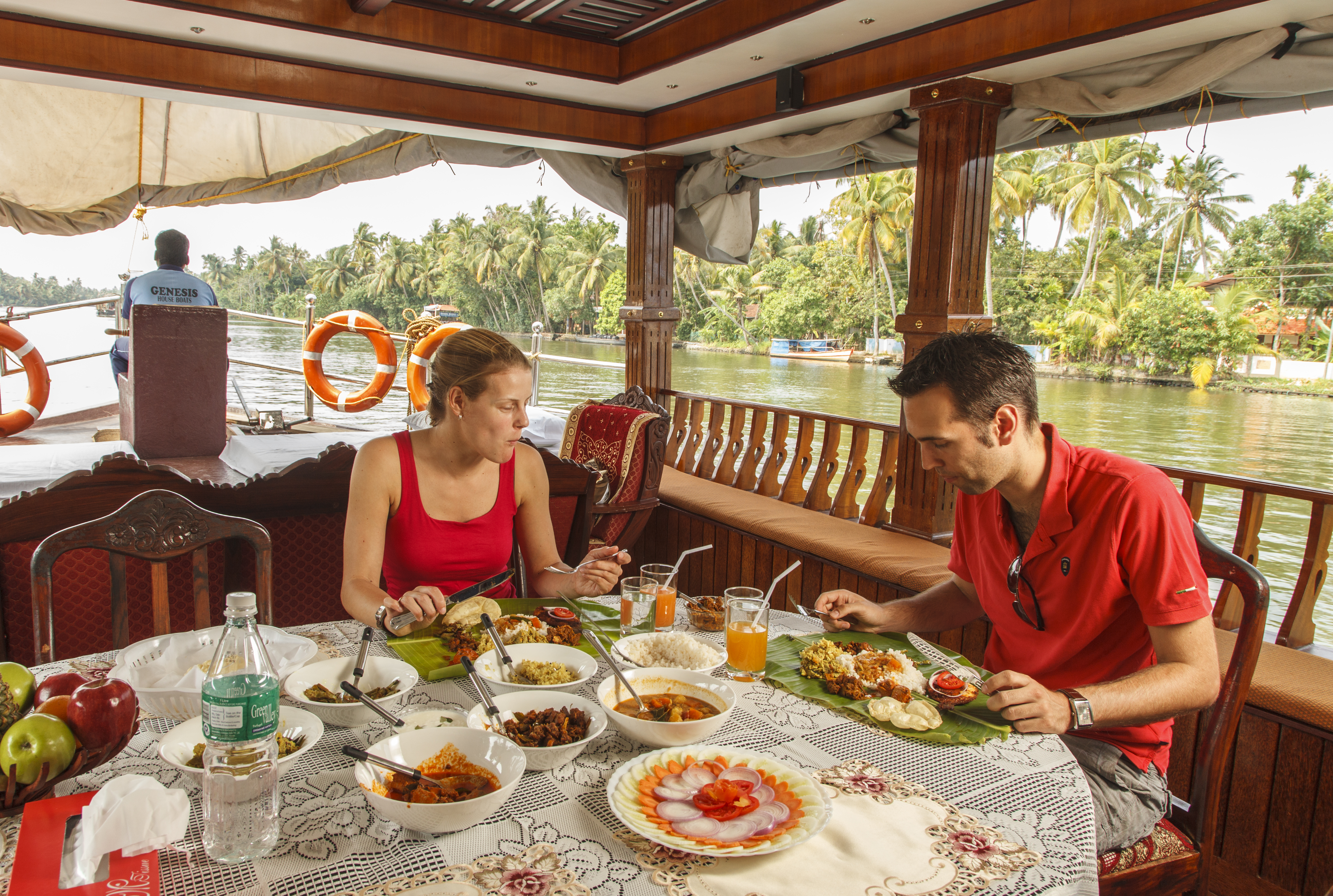 Only houseboat in Kerala with 3 Pricing Options boat rentals Kerala Alleppey (Alappuzha) Kerala