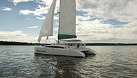 Sailboat Charter  boat rentals New Jersey Port Monmouth New Jersey Sandy Hook Bay Catamaran MaineCat 0 41 Feet
