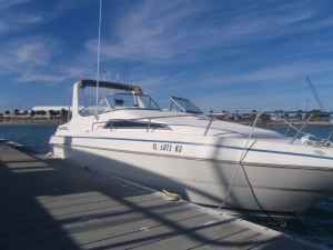 Excel 27ft boat rentals Florida Cocoa Beach Florida Atlantic Ocean & Intercoastal waterways Welcraft Excell 2004 27 Feet