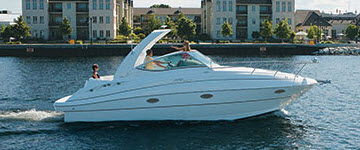 cruising boat rentals Florida cocoa beach Florida port canaveral Cruisers yacht 2807 2005 33 Feet
